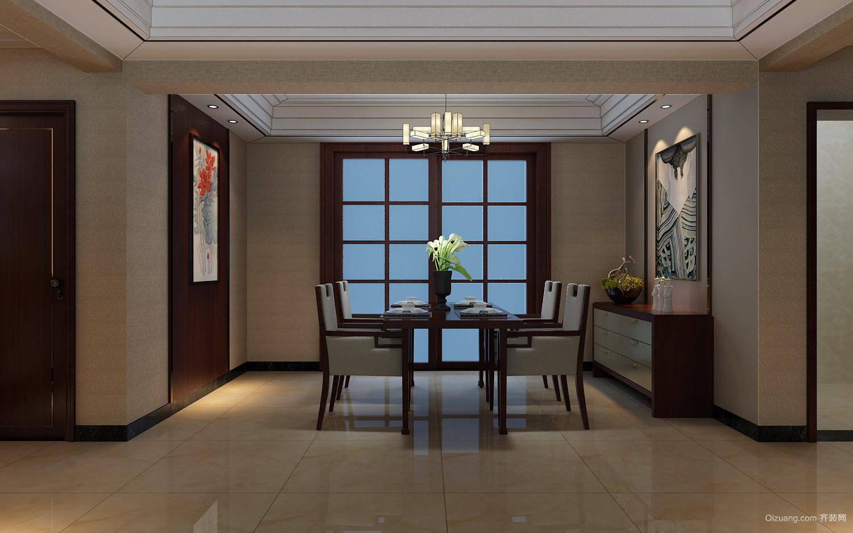 怡馨园中式风格装修效果图实景图