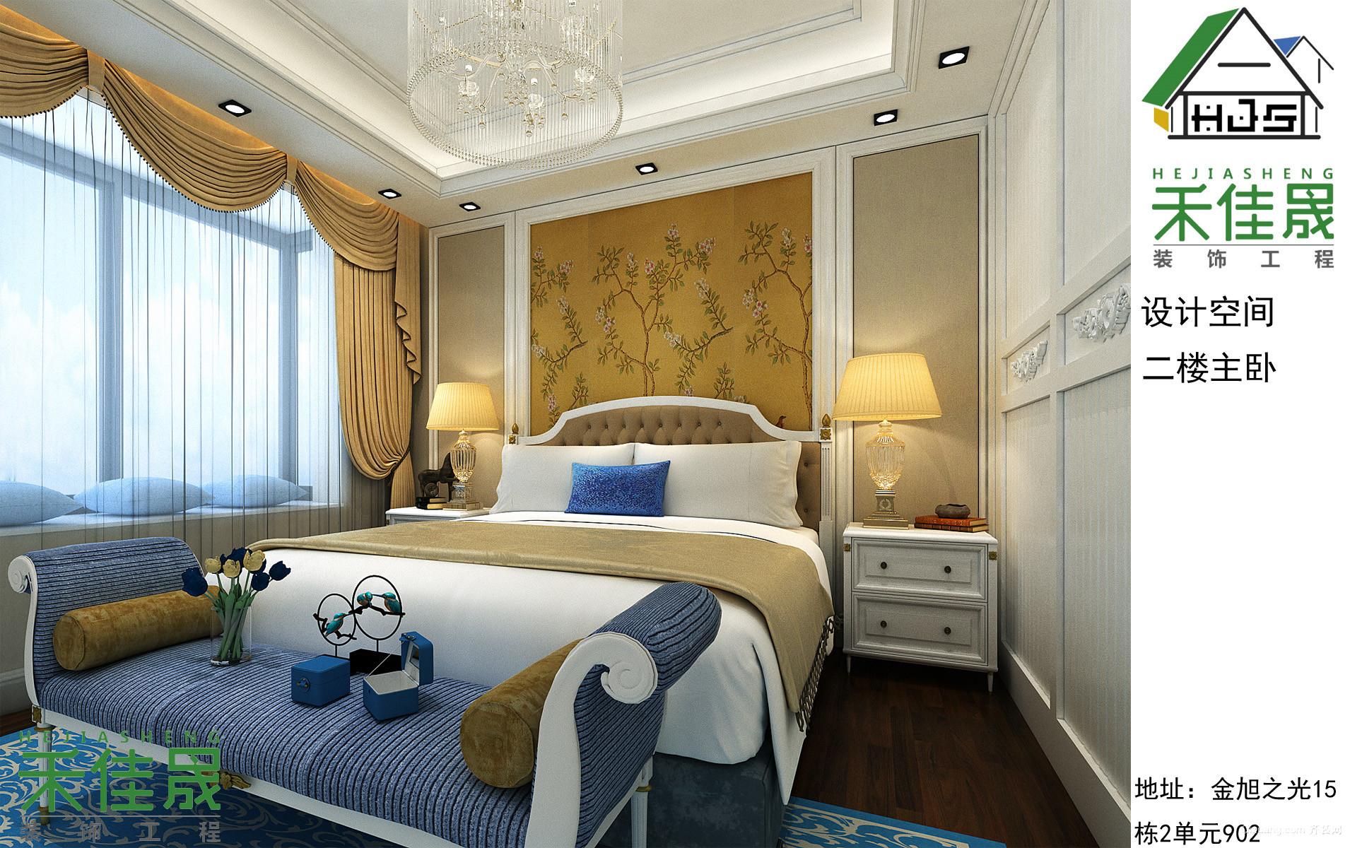 联创富丽家园欧式风格装修效果图实景图