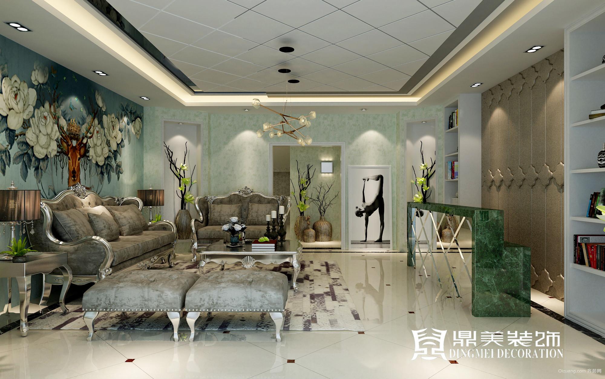 梵志瑜伽馆欧式风格装修效果图实景图