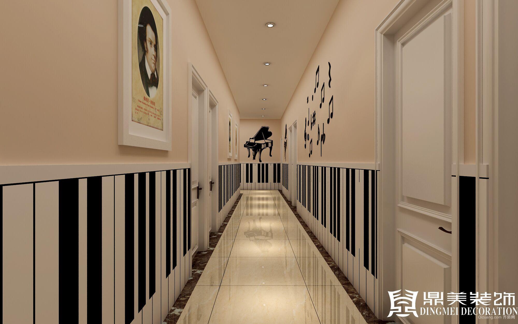 鹰游水岸少儿活动中心田园风格装修效果图实景图