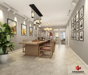 120平米混搭图片家装装修图片v图片-石家庄齐装西餐厅装修设计风格图片