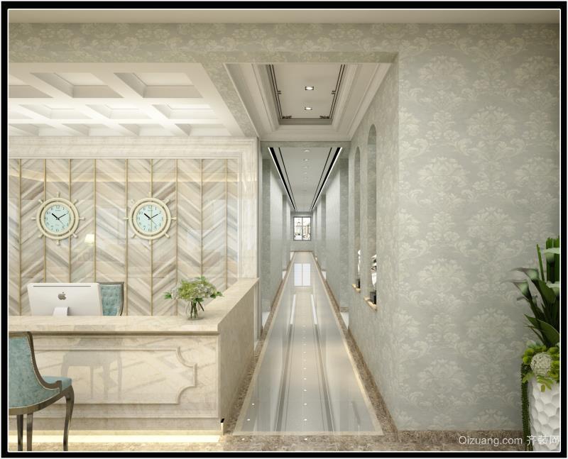 森林酒店混搭风格装修效果图实景图