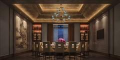 饭店高贵后现代奢华风格