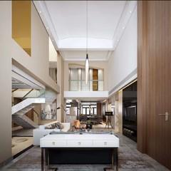 新中式加后现代风格别墅