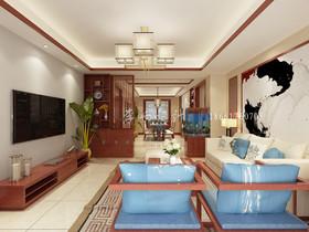 青岛绿城诚园装修设计案例