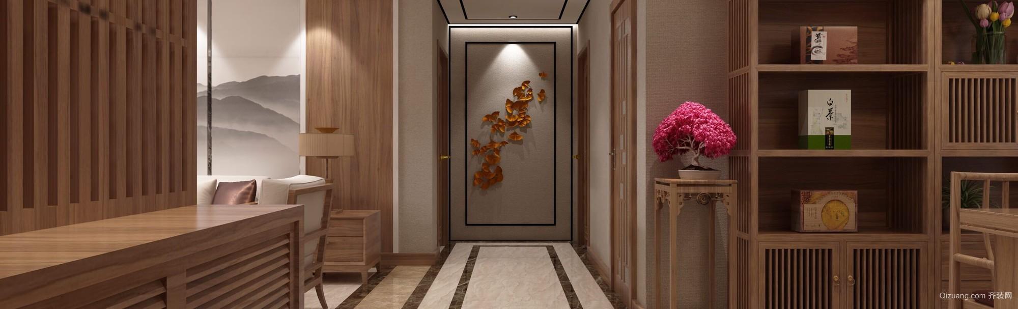 南风花园中式风格装修效果图实景图
