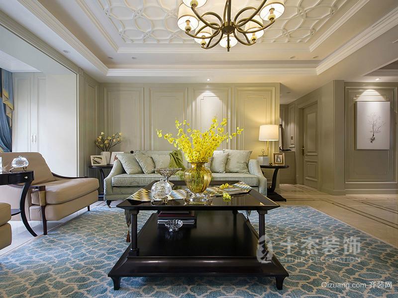 金枫花园欧式风格装修效果图实景图