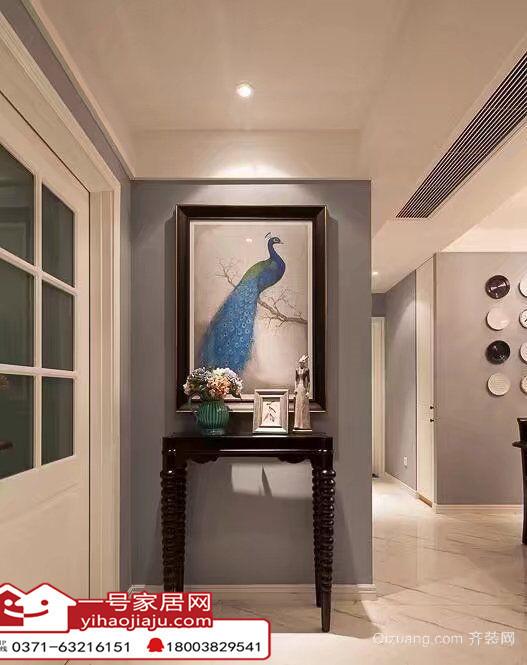 永威南樾古典风格装修效果图实景图