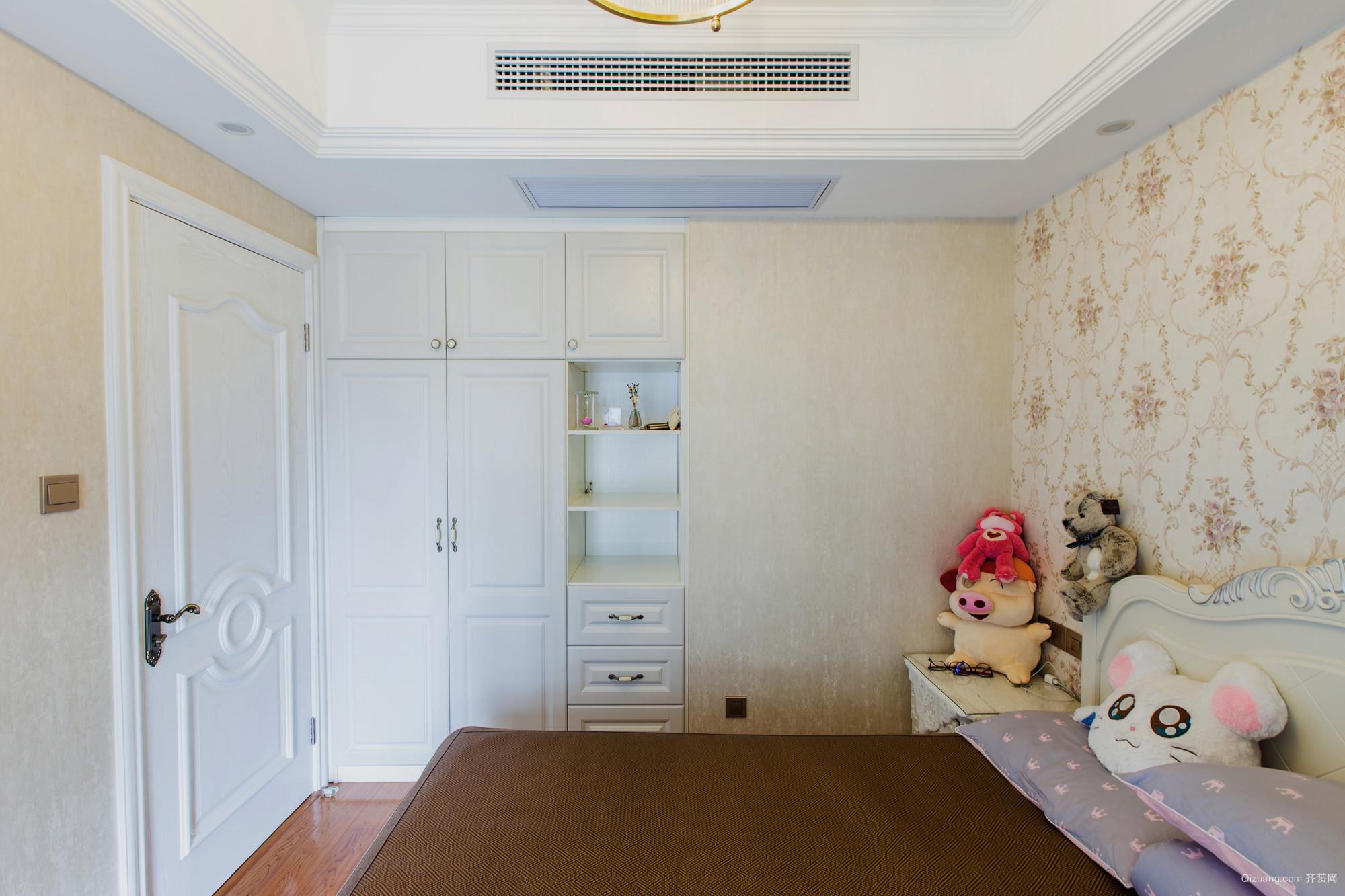 紫玉福邸美式风格装修效果图实景图