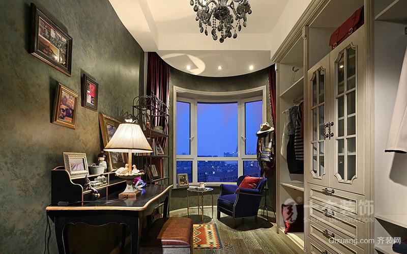 天邦嘉园中式风格装修效果图实景图