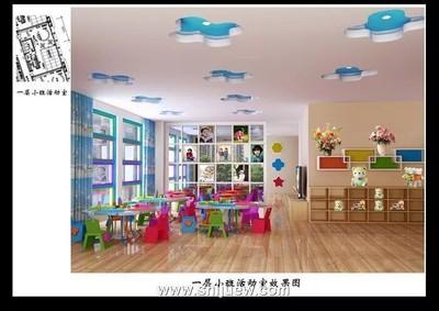 周口幼儿园装修设计案例