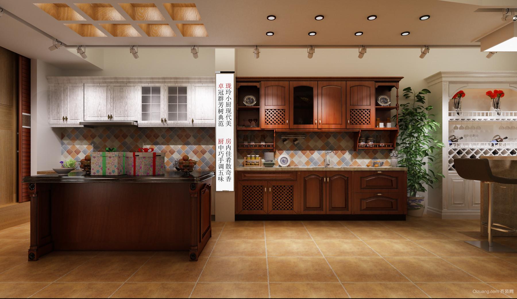 红房子家具广场现代简约装修效果图实景图