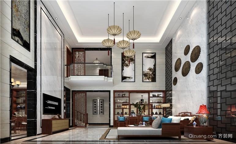 华侨城天鹅湖中式风格装修效果图实景图