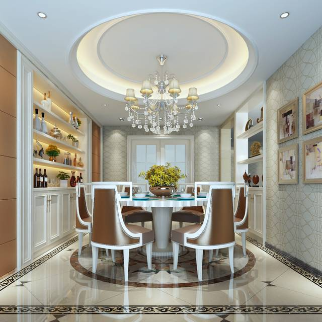 丽晶国际800㎡别墅其他装修案例