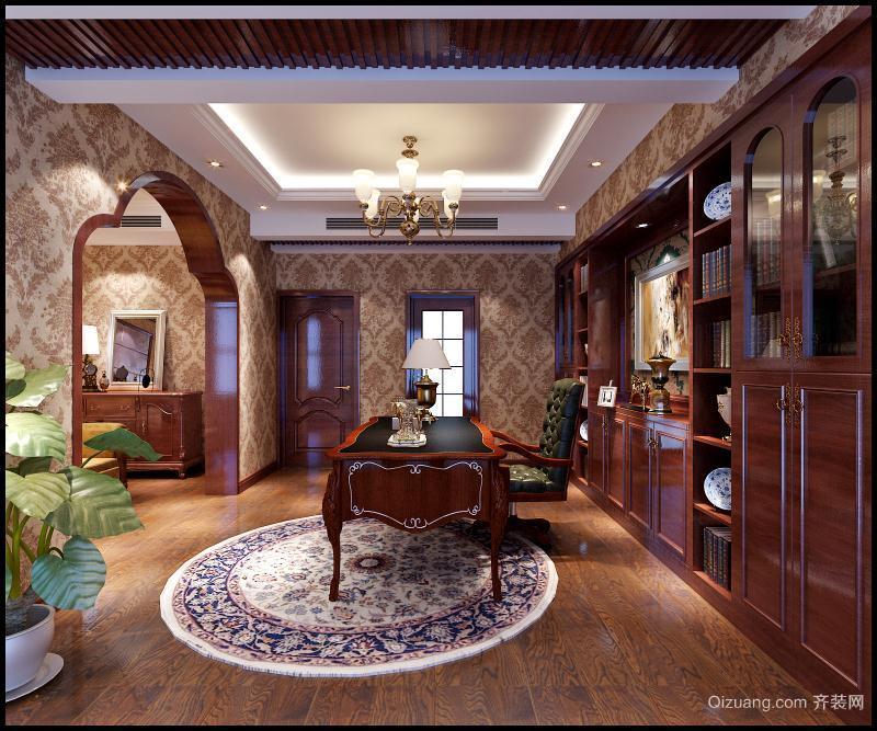银宏小区中式风格装修效果图实景图