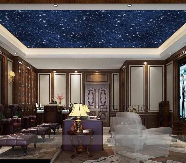 中海九号公馆500㎡别墅中式风格装修案例
