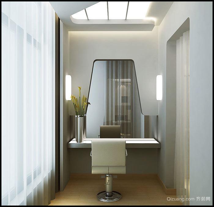 美发体验馆现代简约装修效果图实景图