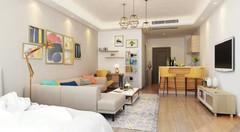 现代简约-万科城公寓