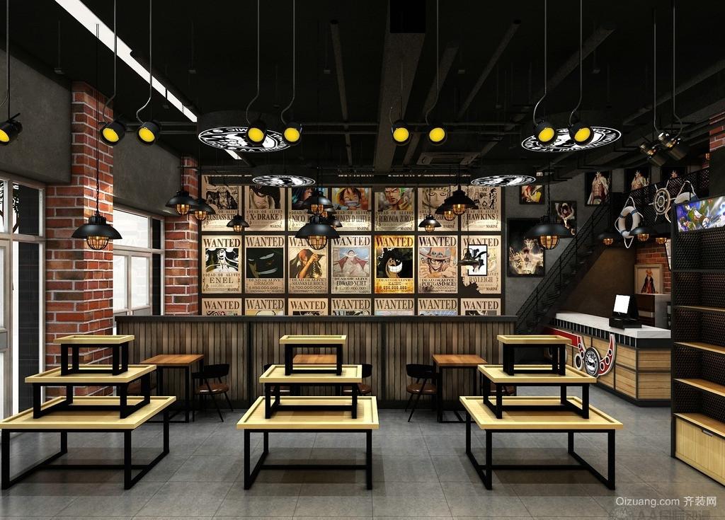 主题餐厅古典风格装修效果图实景图