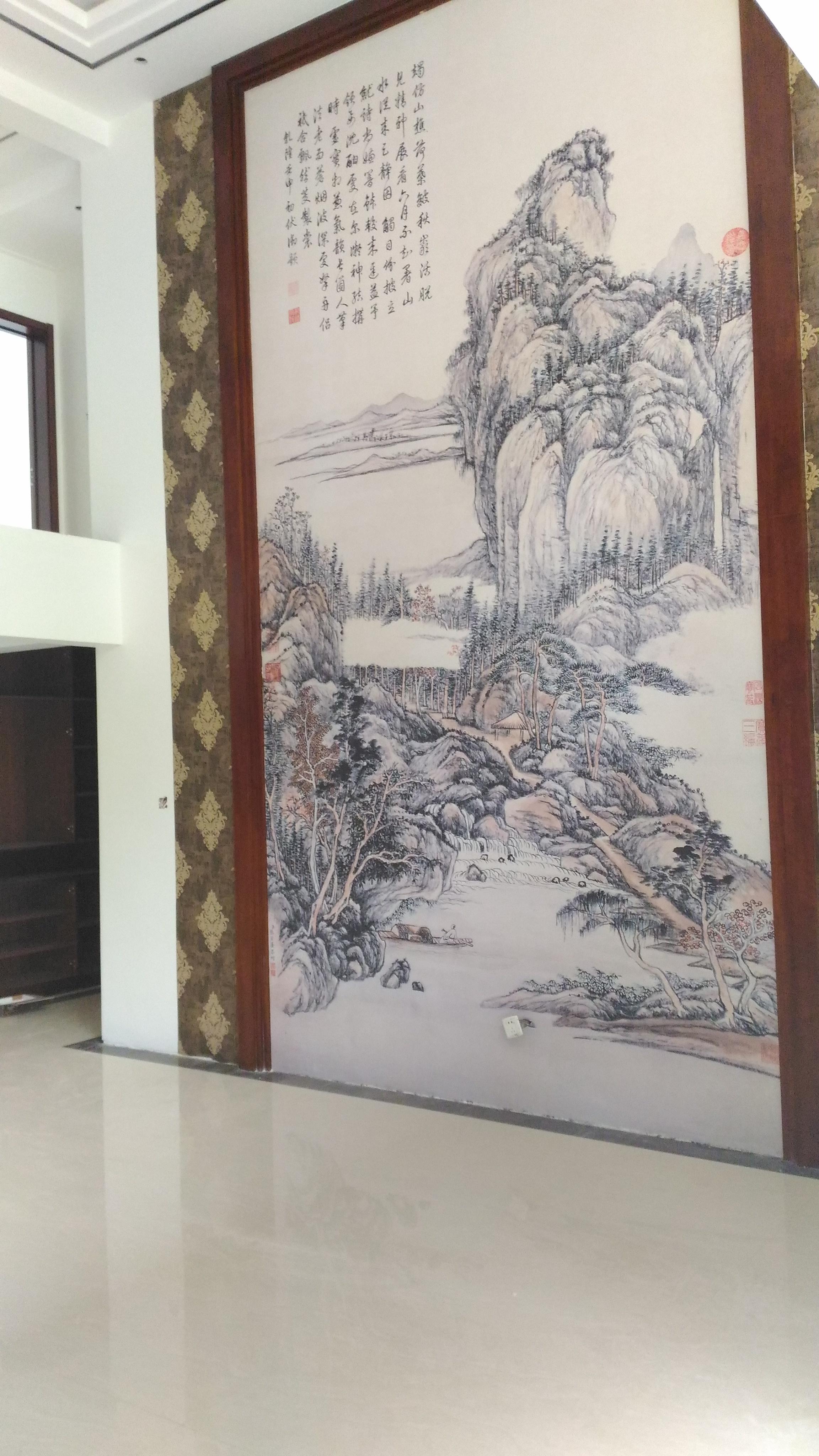 钱裕园中式风格装修效果图实景图