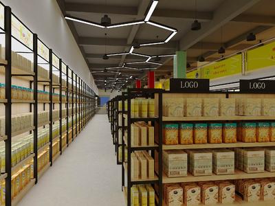 常德好购多超市装修设计案例