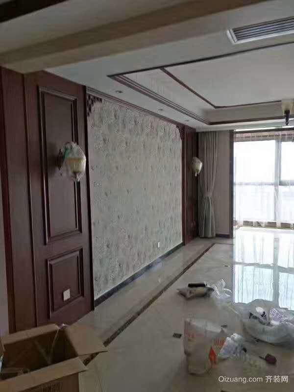 曲江诸子阶中式风格装修效果图实景图