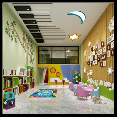 抚州幼儿园装修设计案例