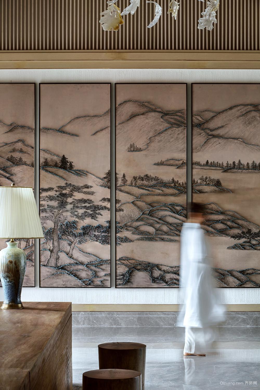 苏宁中式风格装修效果图实景图