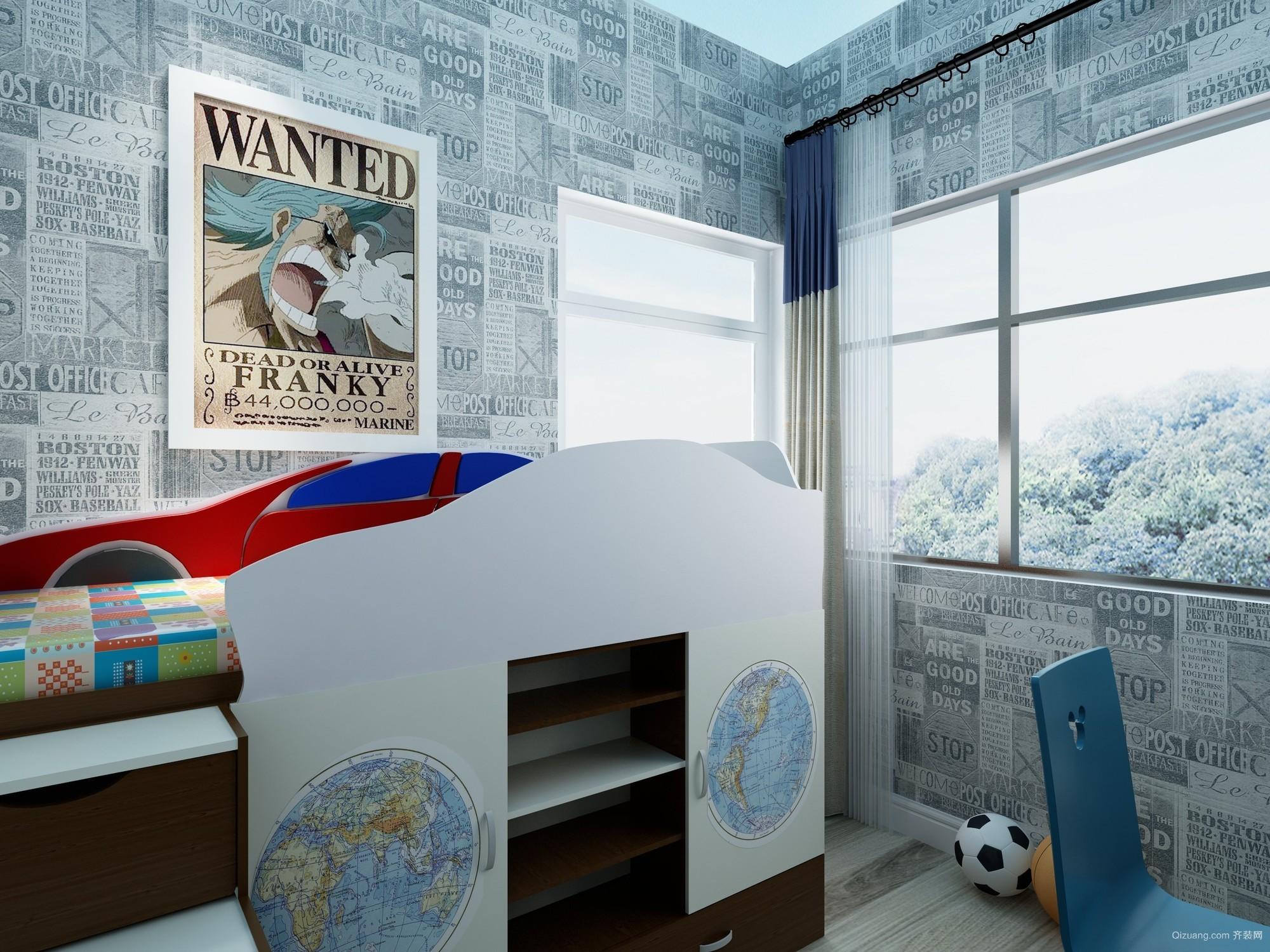 保利林语镜现代简约装修效果图实景图