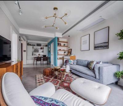 上饶现代简约二室装修设计案例