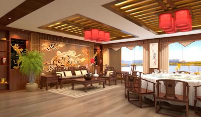 南昌茶楼设计装修设计案例