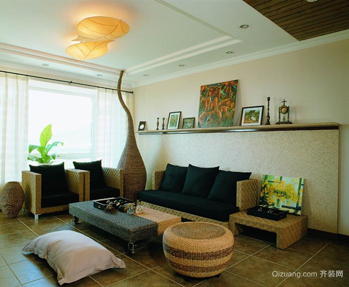 莲花公寓现代简约装修效果图实景图