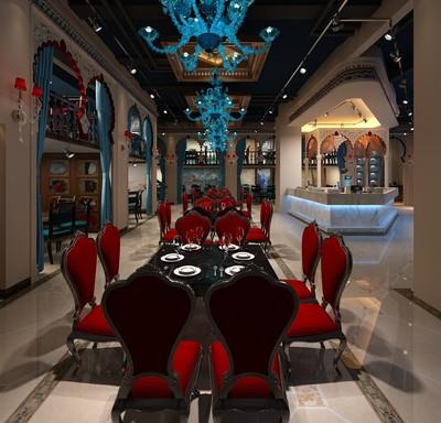 广元餐厅装修设计案例