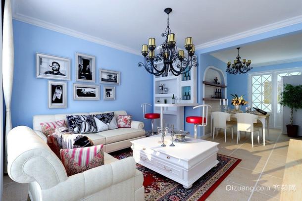 红树湾地中海风格装修效果图实景图