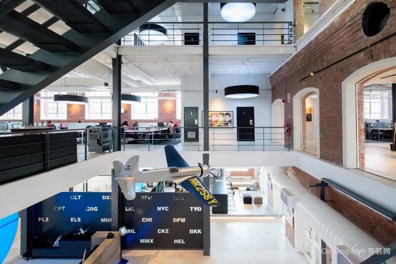 LOFT49创意产业园区现代简约装修效果图实景图