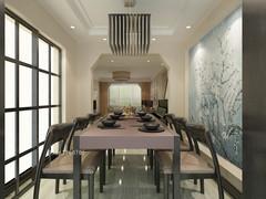 青岛海尔世纪公馆新中式黑白极简原木色调后现代的感觉
