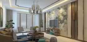 新中式风格二厅三室二卫