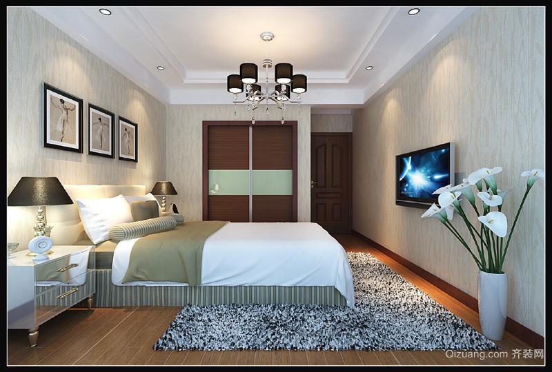 联泰香域中央2现代简约装修效果图实景图