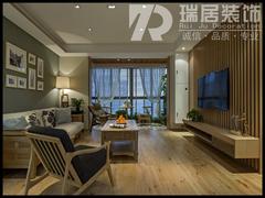 中式风格-[瑞居装饰]兆通大观花园新中式风格装修效果图