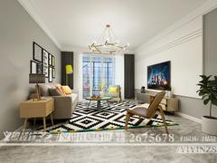 欧式风格-凤鸣湖公寓160北欧设计