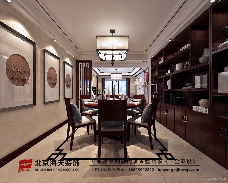 汉德·九洲城美式风格装修效果图实景图