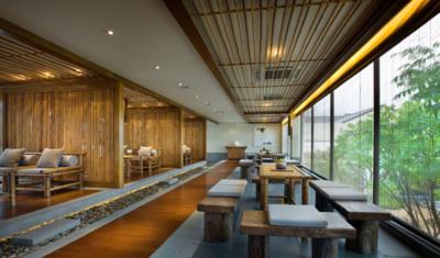 西安某餐厅装修装修设计案例