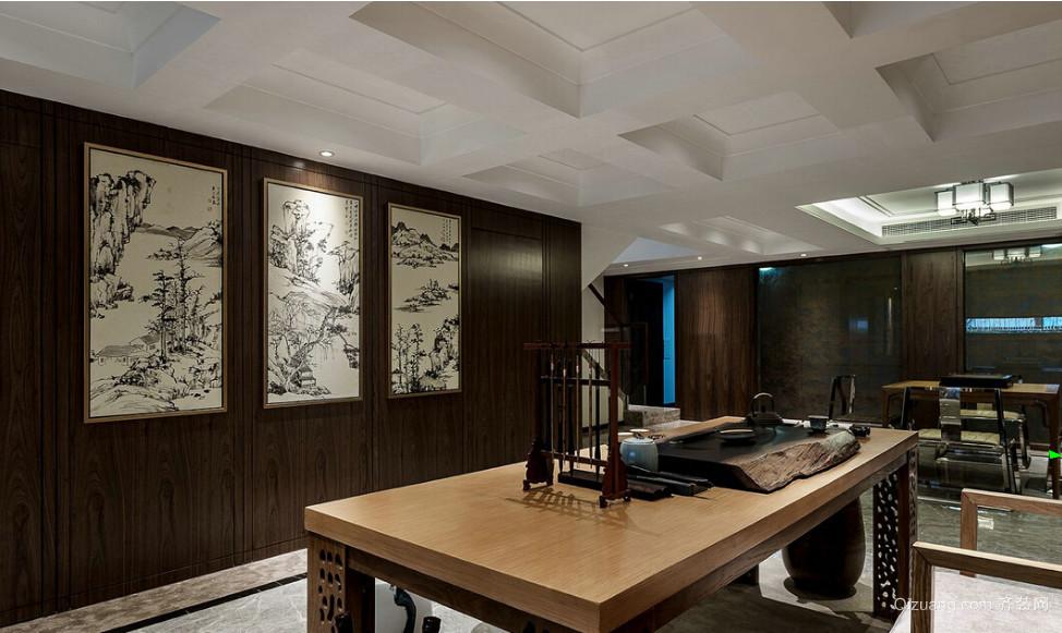 领秀公馆中式风格装修效果图实景图