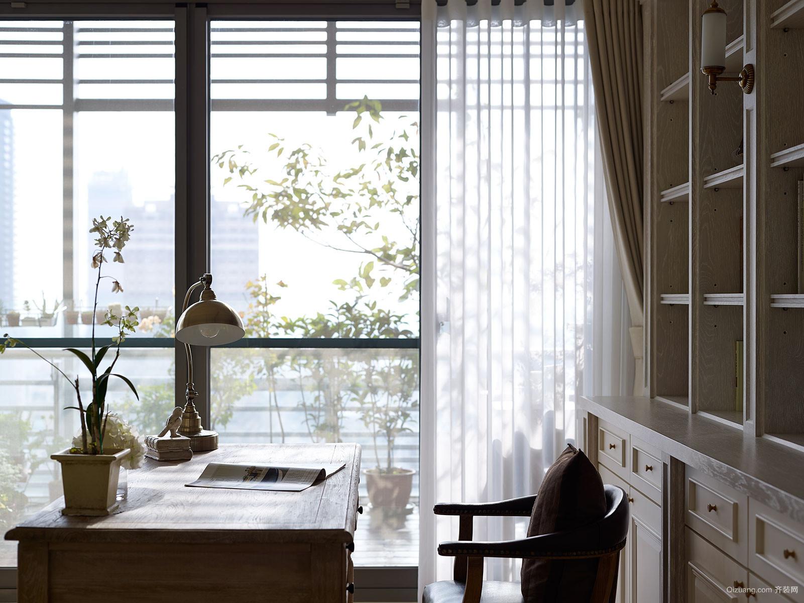 大沃城美式风格装修效果图实景图