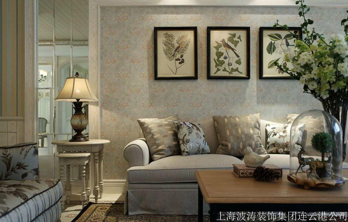 苏宁广场美式风格装修效果图实景图