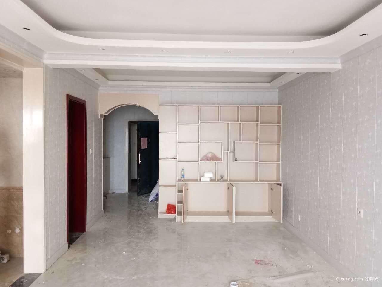建业十八城现代简约装修效果图实景图