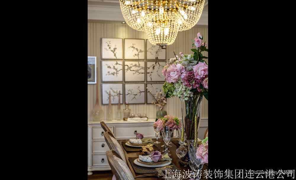 上海之春美式风格装修效果图实景图
