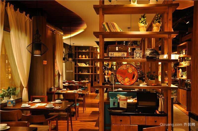 中式餐饮中式风格装修效果图实景图