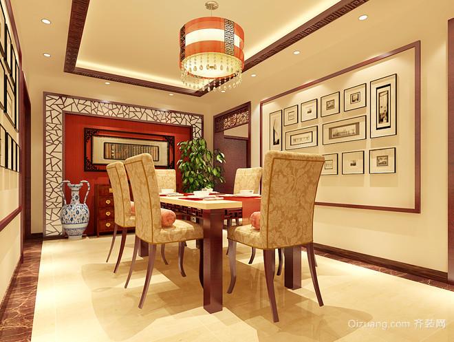 中国铁建涪陵山语城中式风格装修效果图实景图