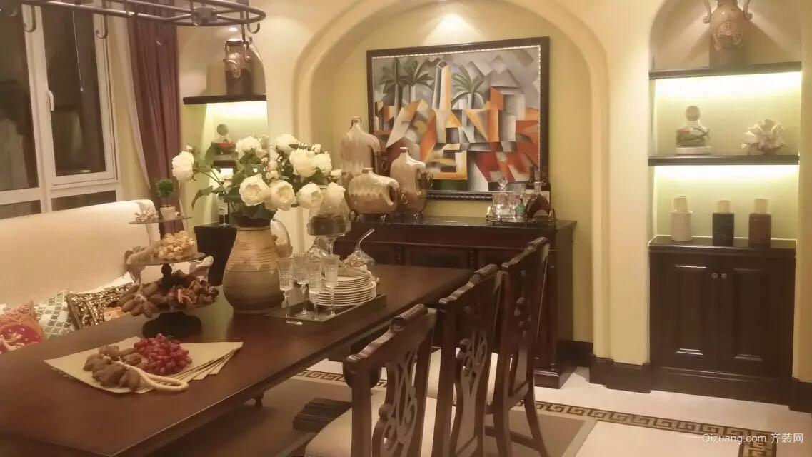 华夏第九园美式风格装修效果图实景图